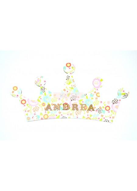 """Cuadro silueta """"Corona"""""""